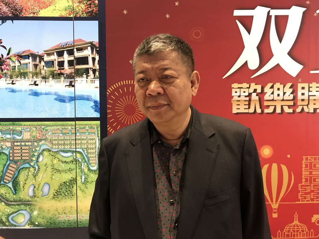 甲山林機構董事長祝文宇。記者游智文/攝影