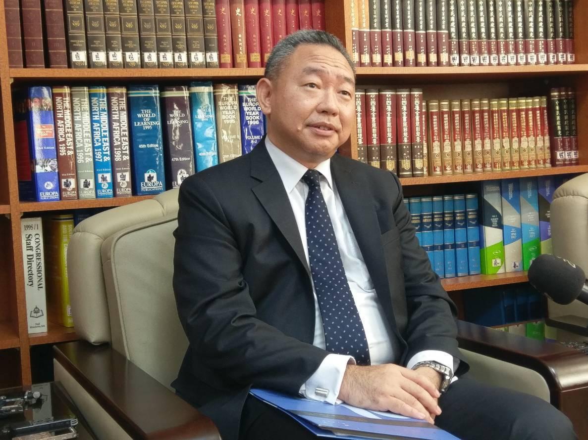 外交部拉丁美洲及加勒比海司司長俞大㵢。記者徐偉真/攝影
