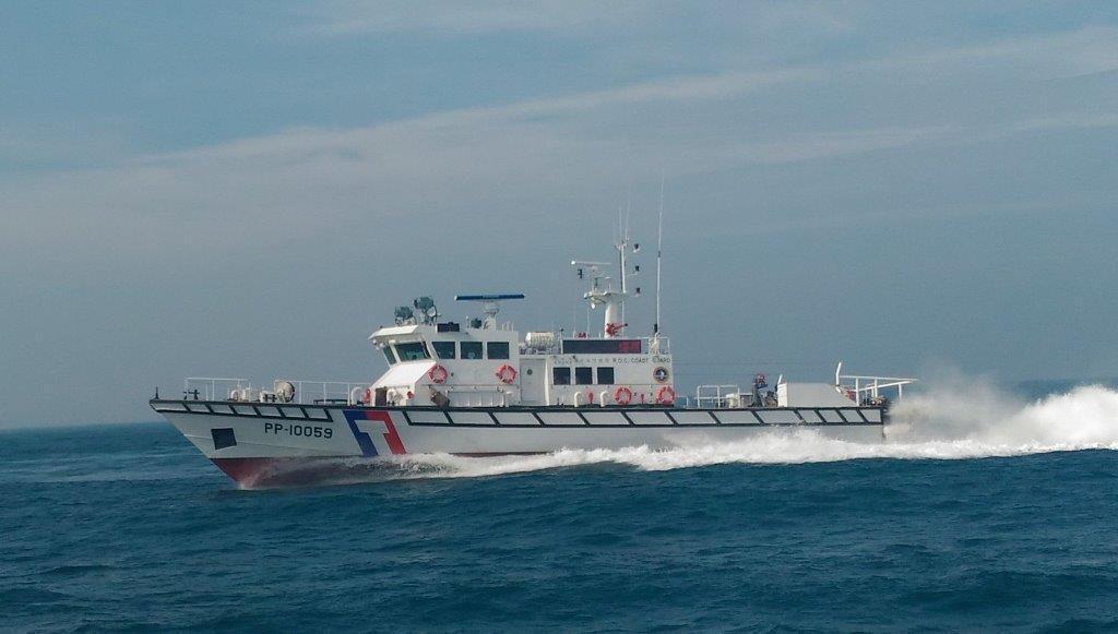 台船公司接手建造15艘100噸級巡防艇,今天動工。圖/海巡署艦隊分署提供