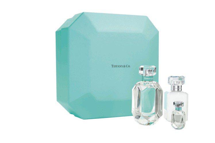 Tiffany & Co.同名淡香精鑽形豪華禮盒,台北SOGO忠孝店Tiffan...