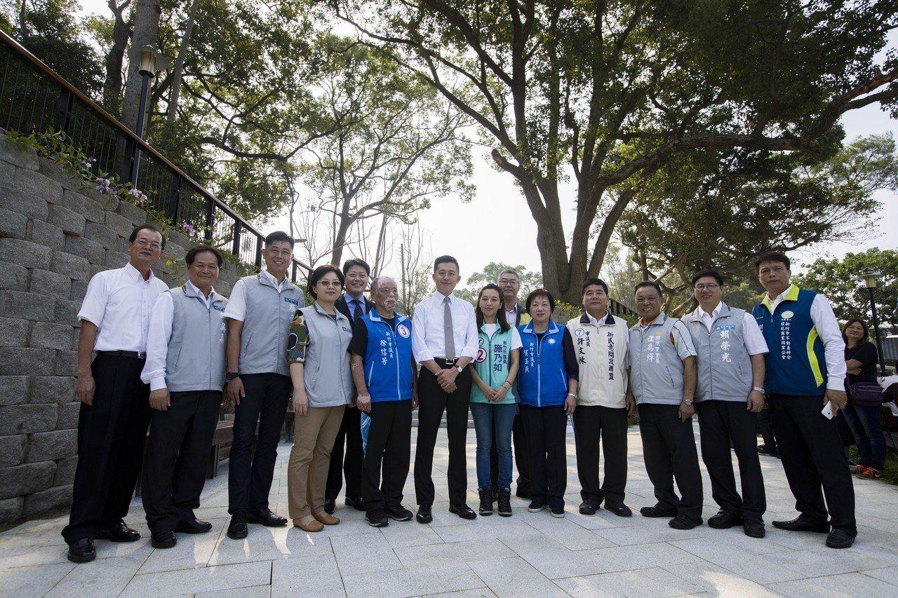 青草湖公園重新規劃提供遊客更優質、友善的休閒空間。圖/新竹市府提供