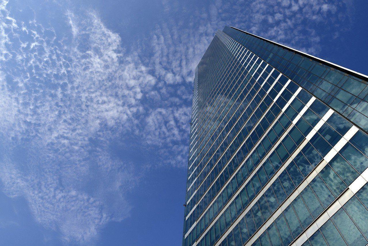 群光智慧綠能大樓位於新北市三重。圖/群光電能提供