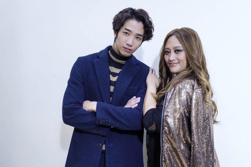 家家(右)為劉以豪獻出戲劇處女作。圖/歐銻銻娛樂提供