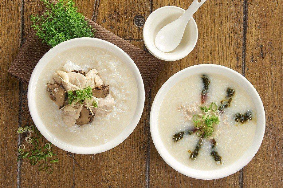 港式廣東粥每份180~200元。圖/微風提供