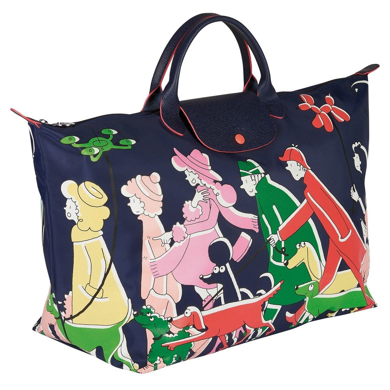LONGCHAMP x Clo'e Floirat旅行袋,售價10,600元。圖...