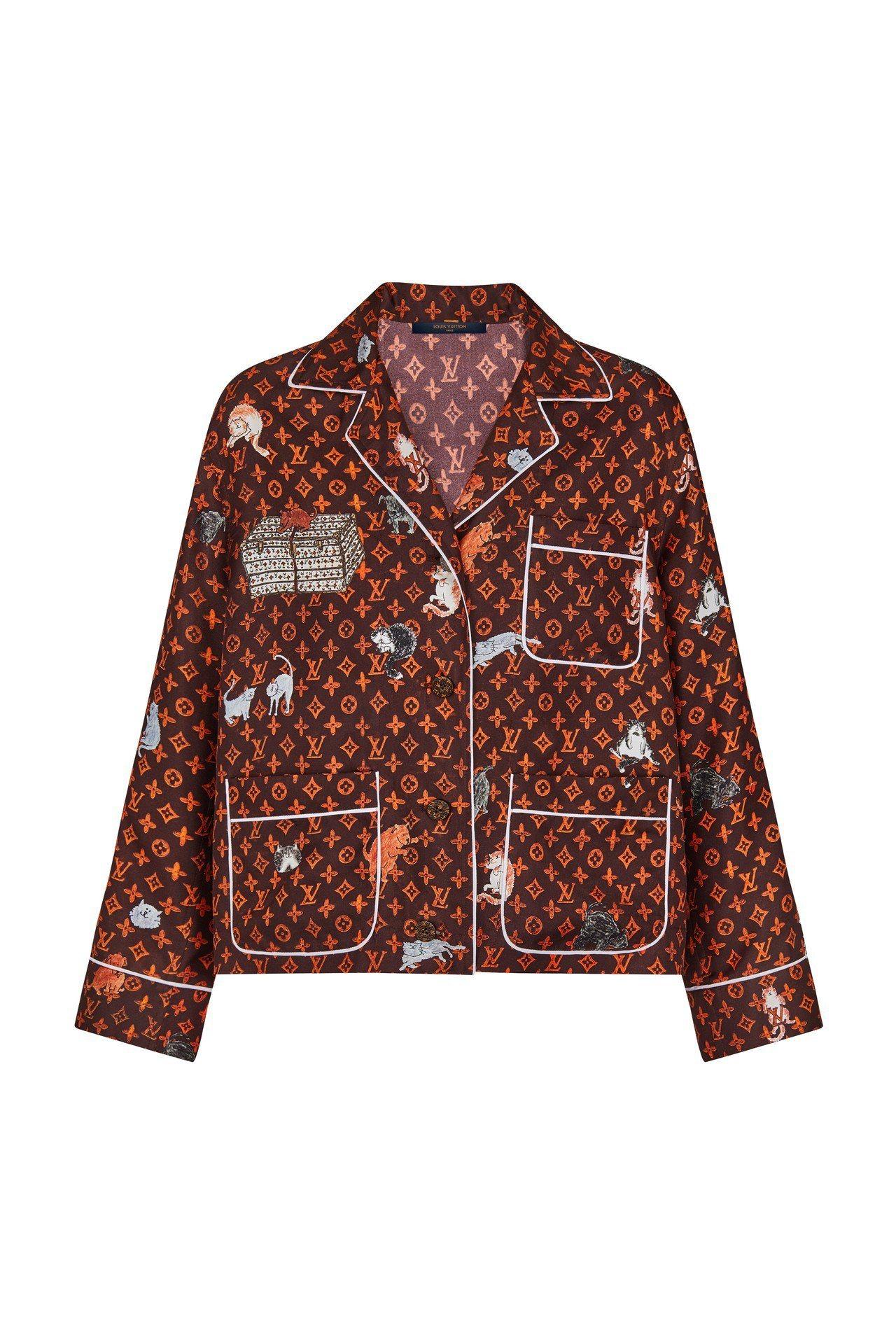 LV X Grace Coddington襯衫,售價65,500元。圖/LV提供