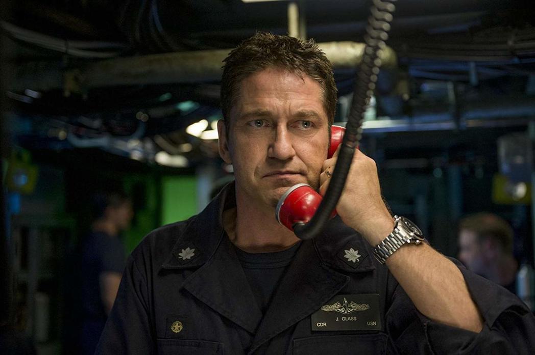 傑瑞德巴特勒在「潛艦獵殺令」扮演潛艇艦長。圖/摘自imdb