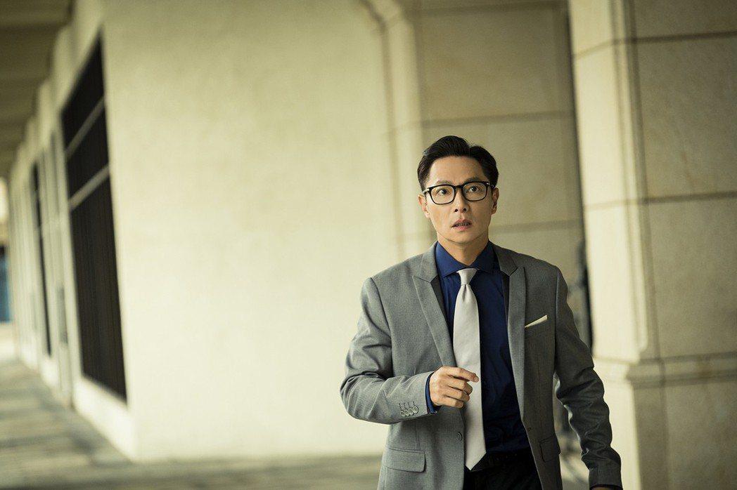 謝祖武在「初戀的情人」迷路後流露出無助神情。圖/TVBS提供