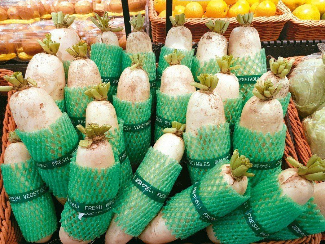 白蘿蔔作為秋冬養生的食材,保健功效不可忽視。 圖/黃楚文(台中市)