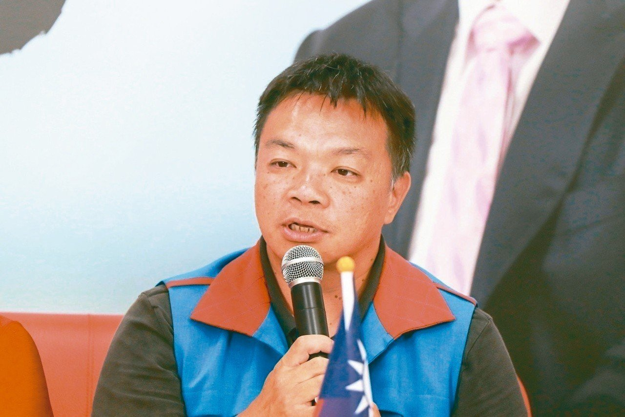國民黨台南市長候選人高思博。 圖/聯合報系資料照片