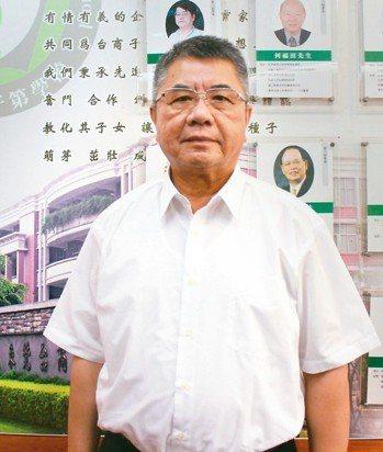 東莞台商學校董事長葉宏燈 黃興文/攝影