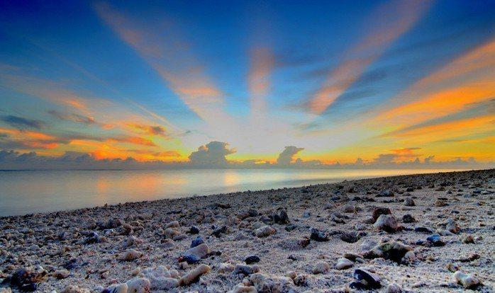 太平島美景。  圖/讀者提供