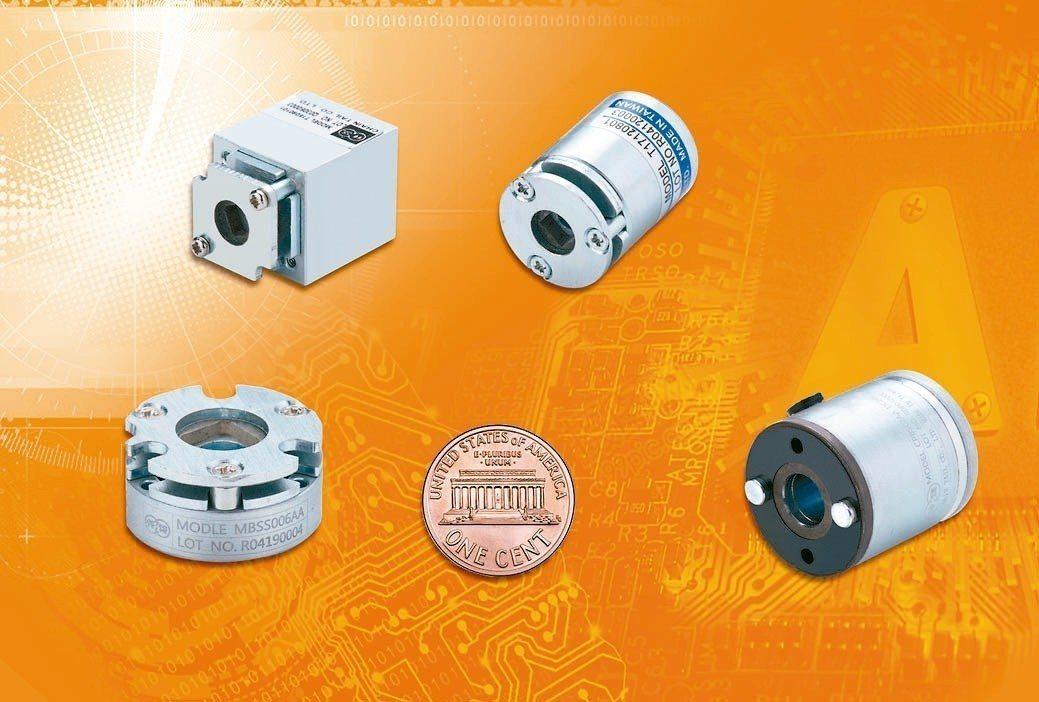 仟岱公司研發成功微型斷電煞車器。 仟岱公司/提供