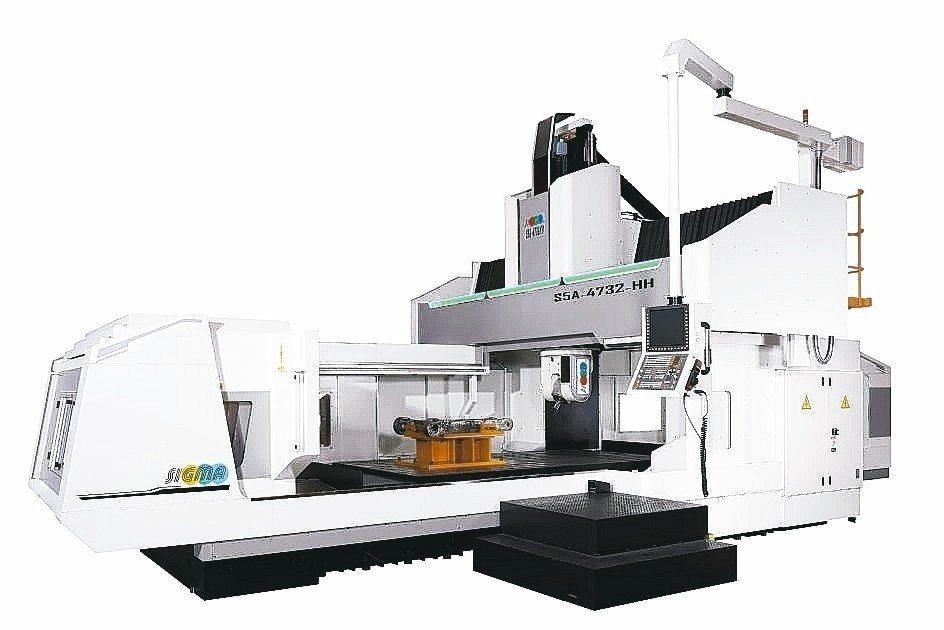 新穎機械針對航太科技產業新推出的高剛性、高扭力,大型CNC五軸龍門加工中心機。 ...