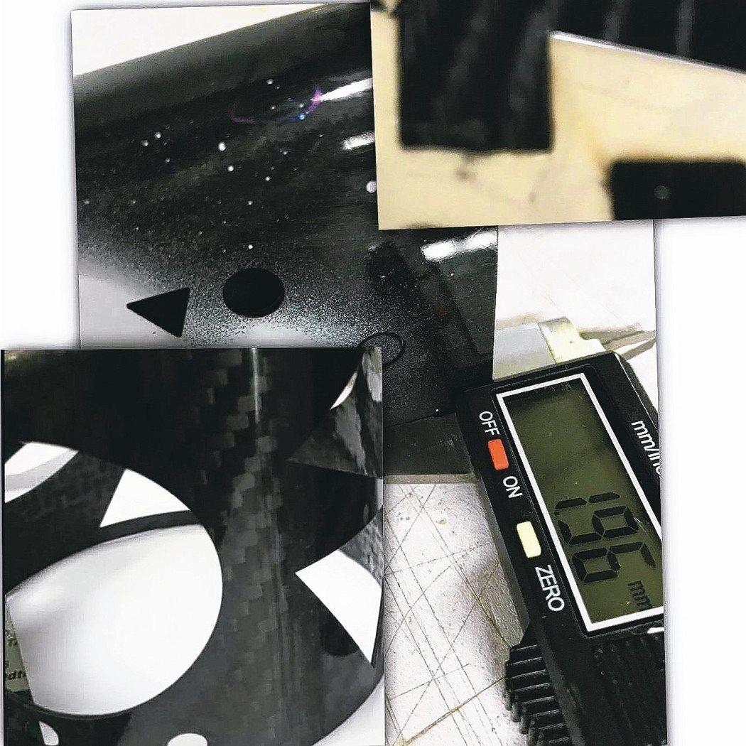 佳興提供客製自動化整合,雷射碳纖維複合材料加工模式可節省人力及耗材成本。 佳興公...