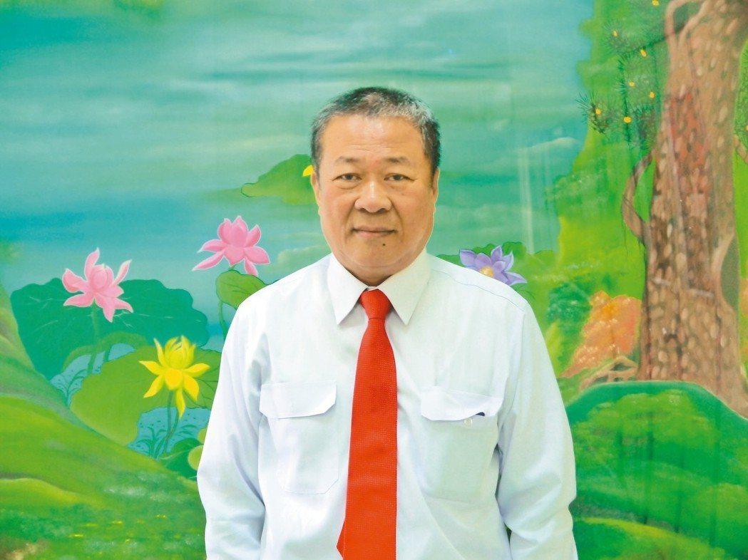 健椿工業董事長葉橫燦。 戴辰/攝影