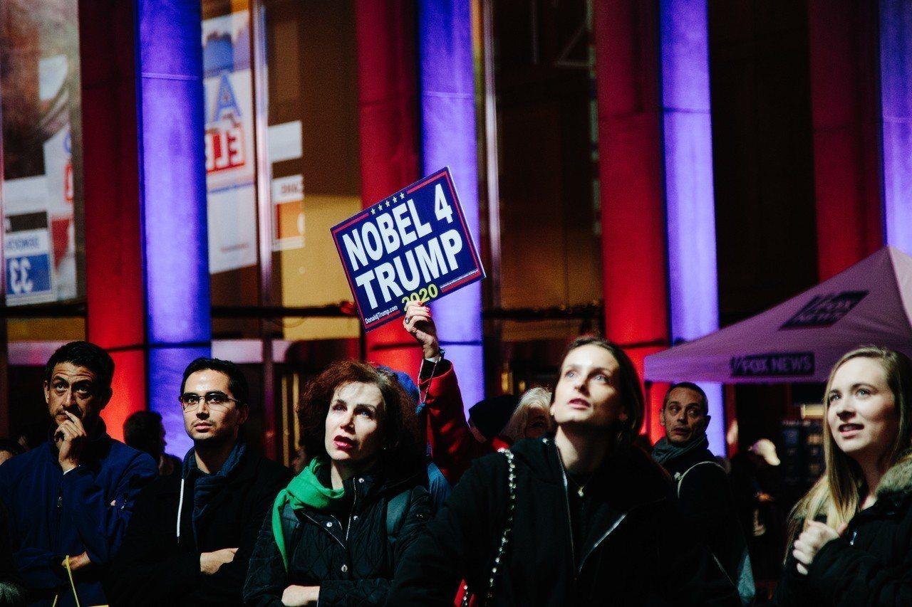 美國期中選舉,英國廣播公司(BBC)分析出5大重點。 歐新社