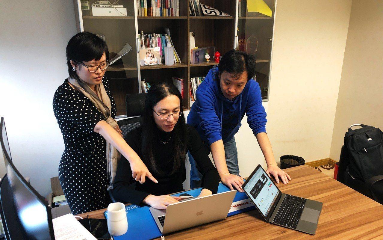 BitRabbit交易所團隊正討論社群經營方式。 BRB/提供