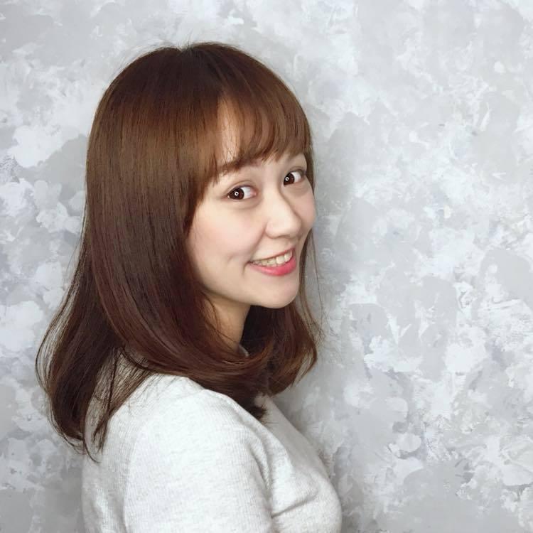 陳其邁的小編楊壹婷長相甜美。 圖片來源/Cherry Yang