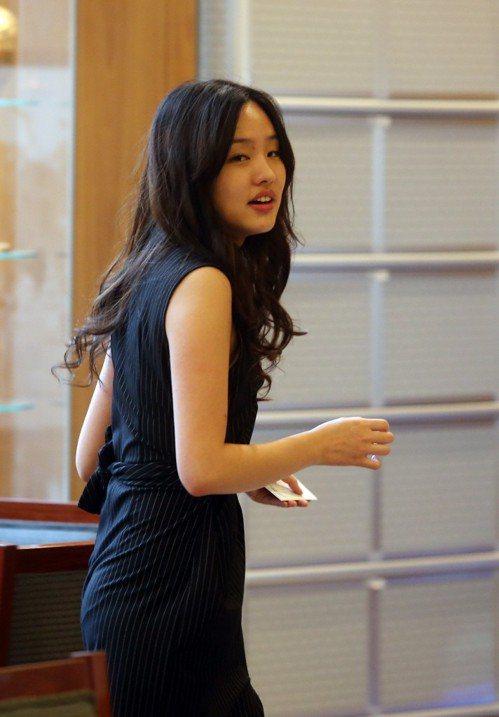 韓國瑜的大女兒韓冰。 本報系資料照/記者曾吉松攝影