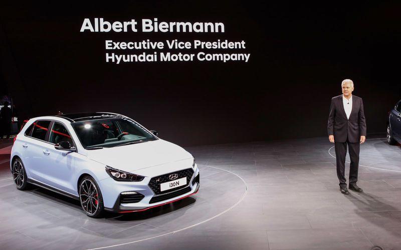 現任Hyundai-Kia性能總監與N Performance總工程師的Albert Biermann。 摘自Hyundai