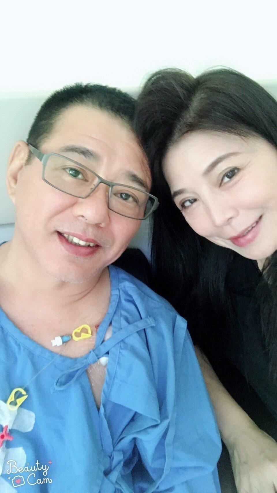 安迪罹患食道癌第三期。圖/阿娥提供