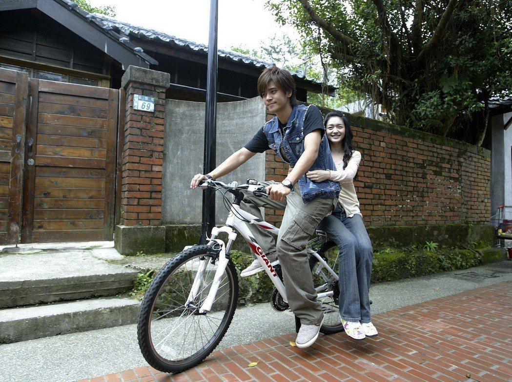 羅志祥、大S當年一起主演「轉角遇到愛」。圖/聯合報系資料照
