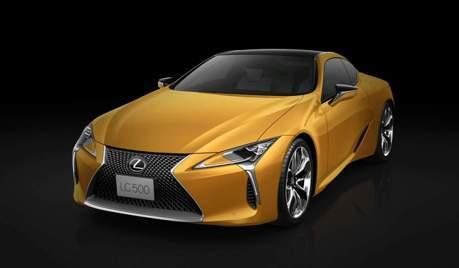 黃色LC再一發 Lexus LC Luster Yellow Edition日本限定發售中!