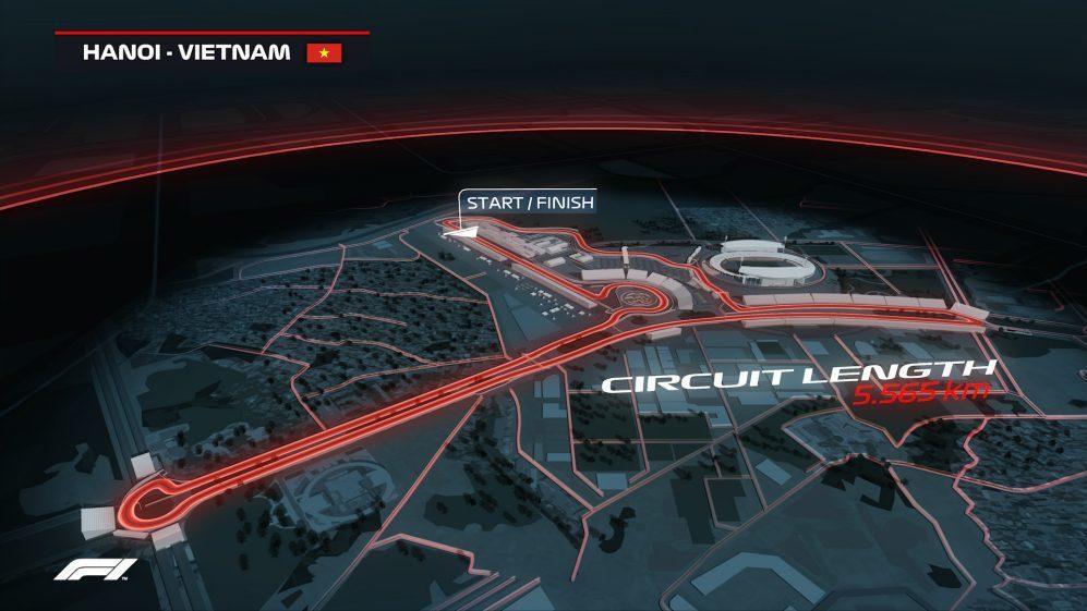 越南2020也將首度舉辦F1大獎賽。 摘自Formula1