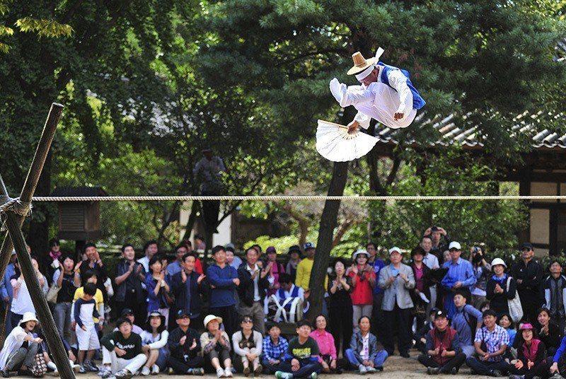 韓國民俗村。 圖/京畿觀光公社提供
