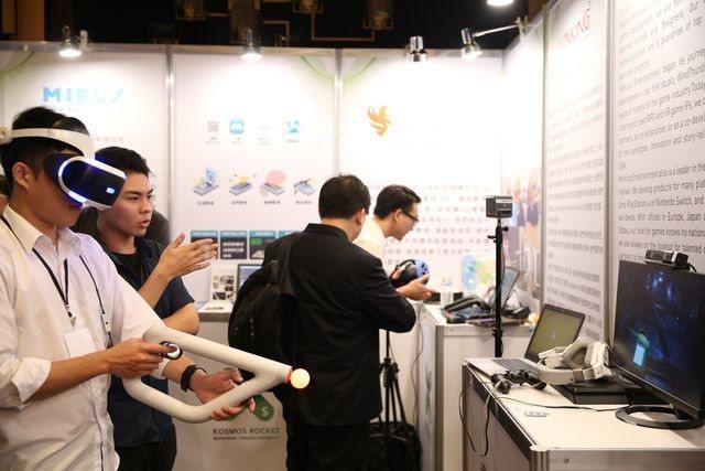 20組潛力新創團隊在高雄舉辦demo show,讓世界看見台灣體感新創的力量。 ...