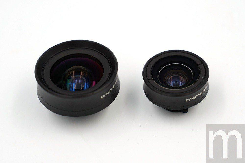 新款擴充鏡頭分別區別支援4K HD畫質版本,以及一般廣角拍攝版本