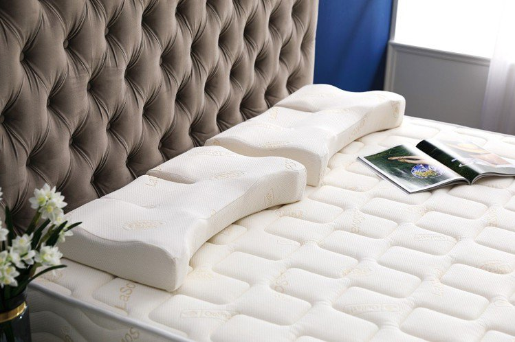 LaSova總裁枕+親膚抑菌總裁枕枕套 雙11驚喜價7,499元。圖由廠商提供。