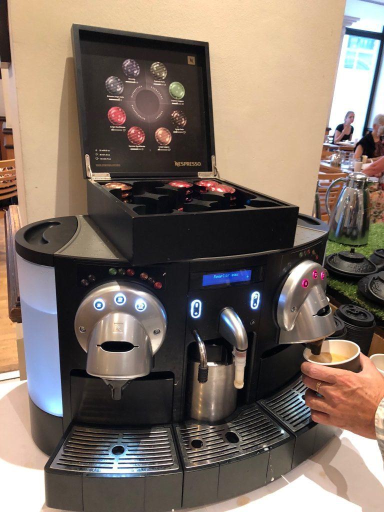 備有 Nespresso 膠囊咖啡機 圖文來自於:TripPlus