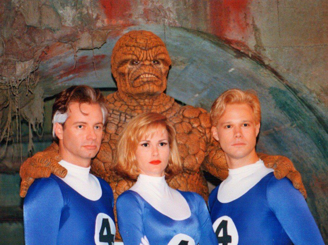 1994年版「驚奇4超人」製作品質粗糙。圖/摘自imdb