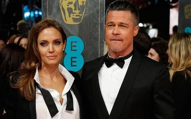 布萊德彼特與安琪莉娜裘莉被傳將在12月4日正式對簿公堂、談判離婚。圖/路透資料照...