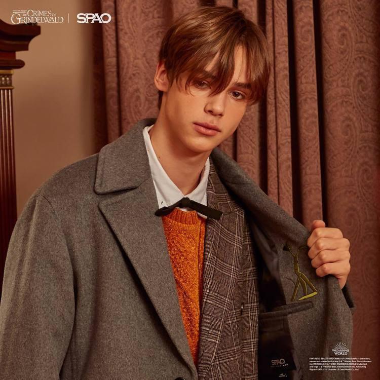 韓國平價時尚品牌SPAO將推出韓國地區限定哈利波特聯名系列服裝。圖/摘自inst...