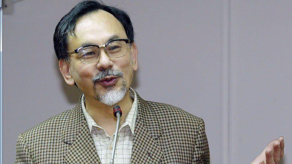 民進黨前立委林濁水。 圖/聯合報系資料照