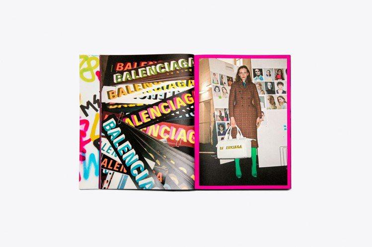 Balenciaga新書主題為「2018冬季時裝秀」,由攝影師Johny Duf...