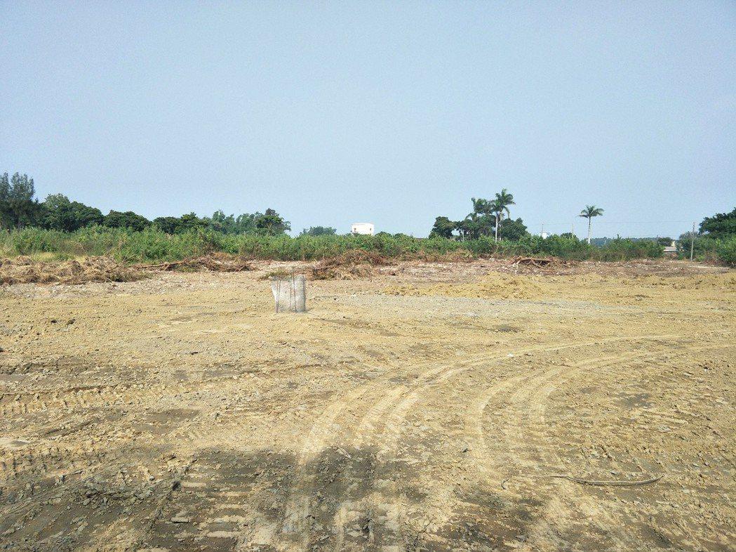 鹽水岸內糖廠影視基地現場。記者謝進盛/攝影