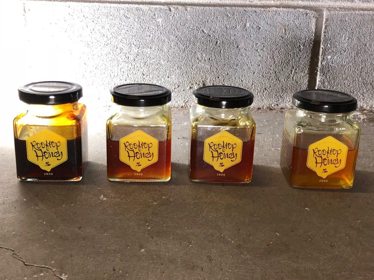Honey Testing可以嚐到墨爾本不同地區的蜂蜜口味,完全反映風土。記者錢...