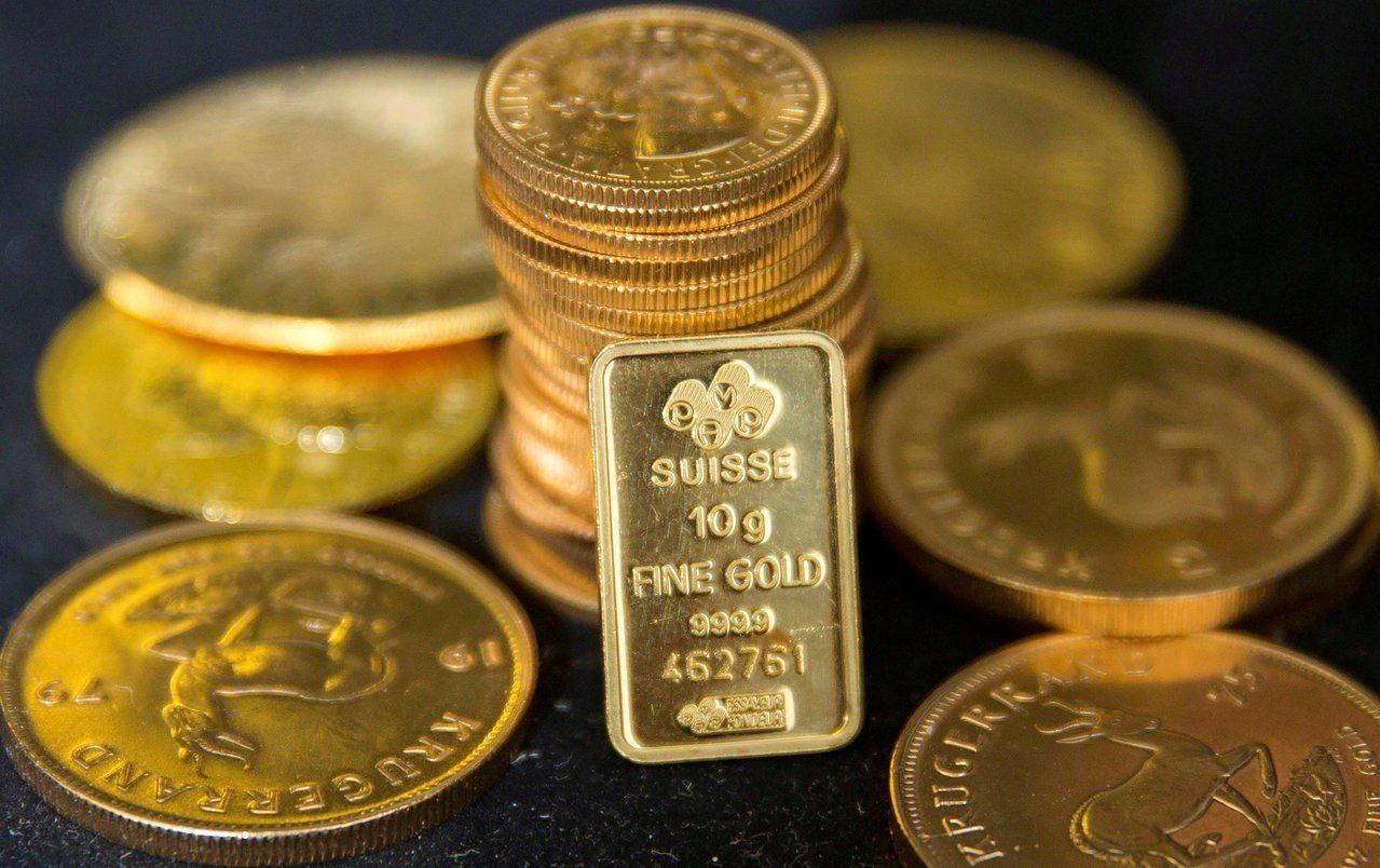 實質利率走低將有利於黃金表現。 路透社