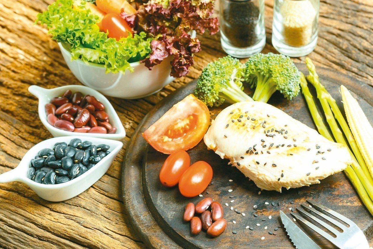 營養師強調,增加肌肉量關鍵是適當運動,並補充蛋白質,因蛋白質含胺基酸,是肌肉組成...