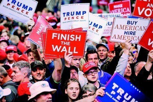 美國期中選舉後,社會對立的情況恐難改善。 (美聯社)