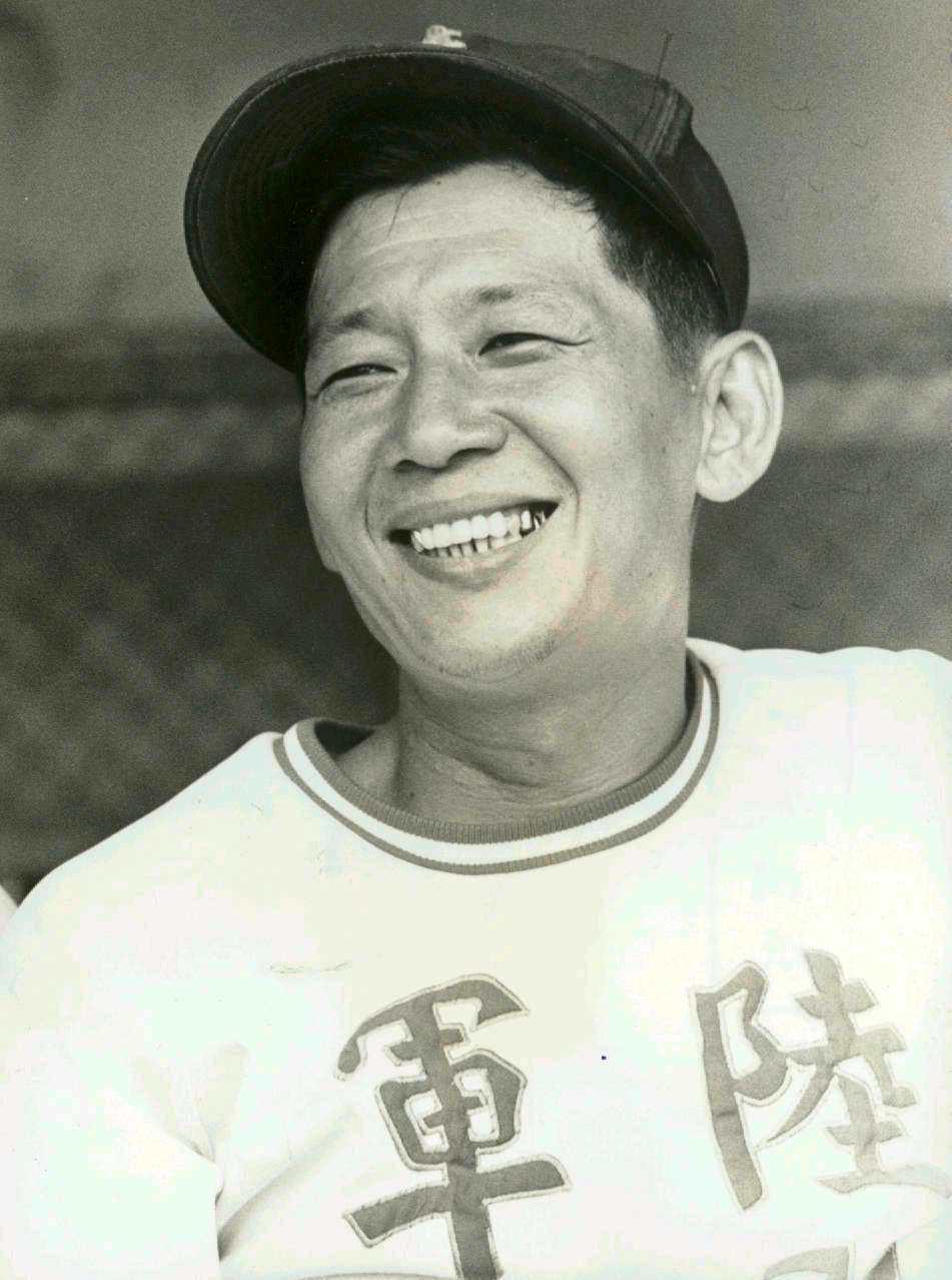年輕時的林信彰教練。 聯合報系資料照
