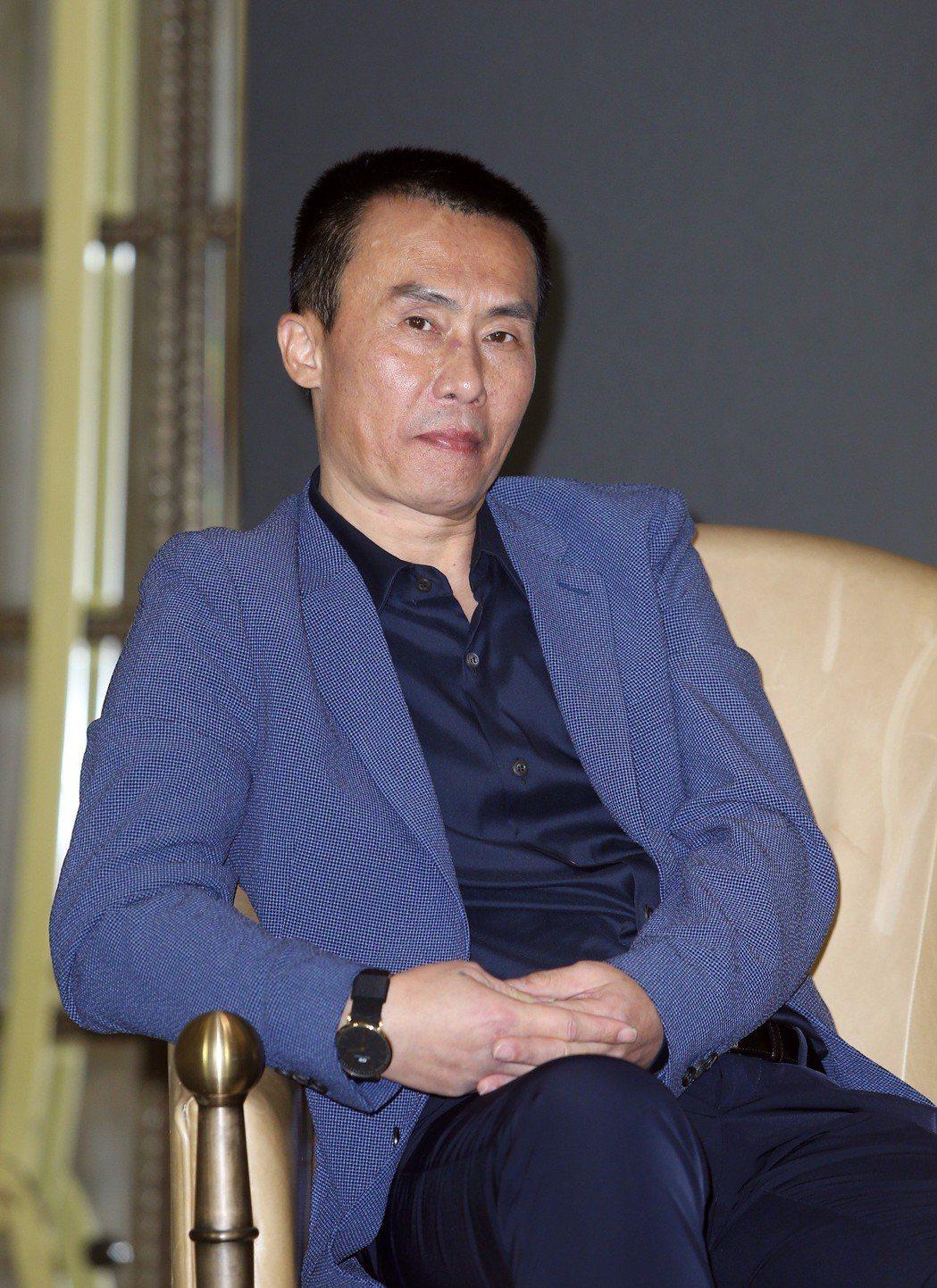 2018金馬影展開幕片《地球最後的夜晚》記者會,演員陳永忠出席。記者曾吉松/攝影
