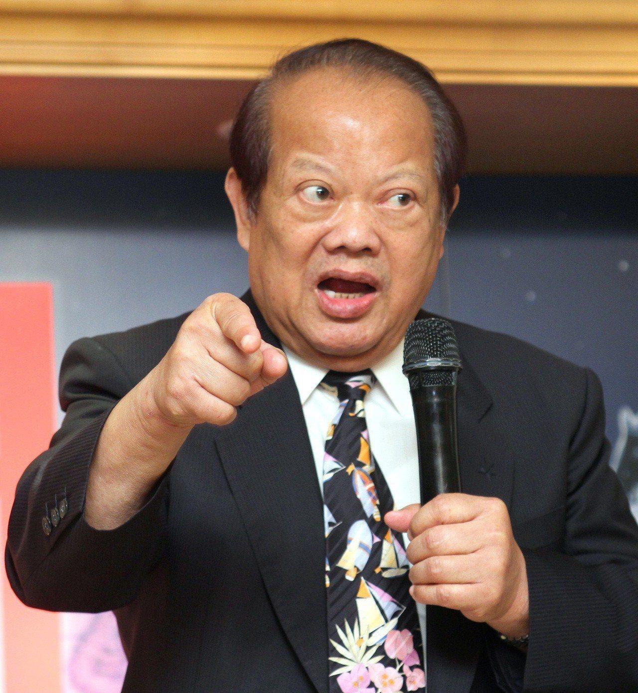 前高雄市長蘇南成。報系資料照