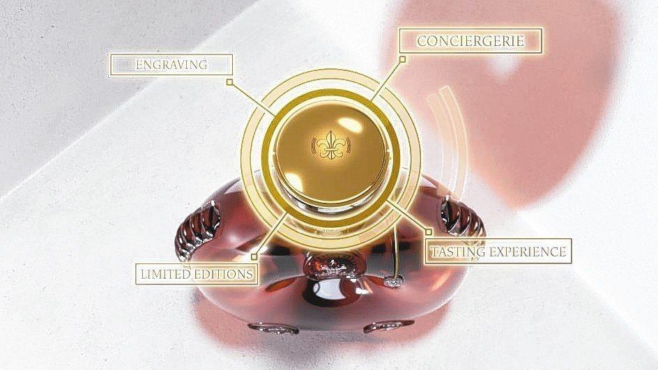 路易十三創新智能酒瓶聯網功能。 路易十三臻峯匯/提供