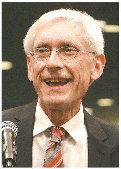 威州州長當選人艾弗斯 美聯社