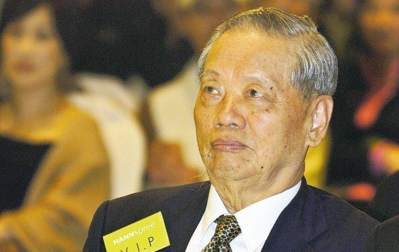 華新麗華集團創辦人焦廷標。報系資料照